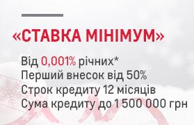 Кредит від УКРГАЗБАНКУ