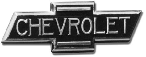 первый логотип CHEVROLET