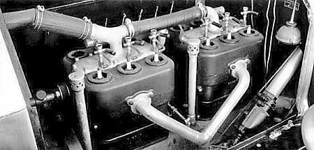 6-ти цилиндровый двигатель с верхним расположением клапанов