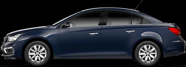 Chevrolet Cruze 2016 у кольорі Old Blue Eyes