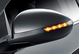 Бокове дзеркало Chevrolet AVEO 2017 із світлодіодними покажчиками поворотів
