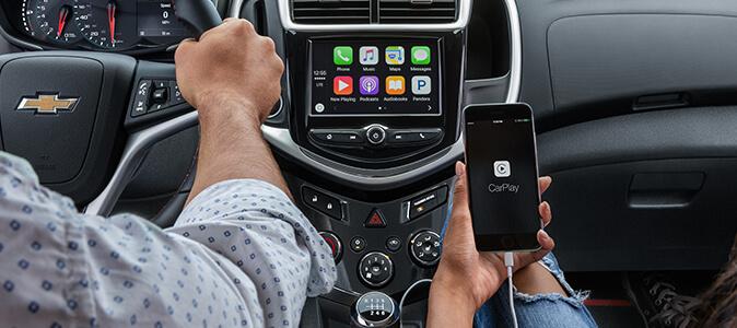 Chevrolet MyLink із функцією Apple CarPlay